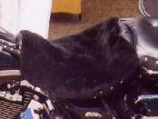 SHEEPSKIN PELT MOTORCYCLE SEAT COVER