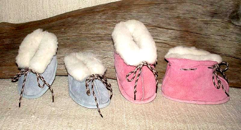 Pink or Blue Slippers