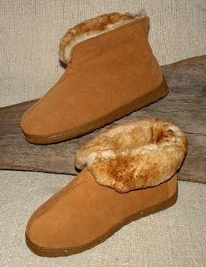 c5f4c035a45 BlackSheep Trading Company - Sheepskin Slippers