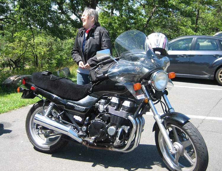 Custom Motorcycle Seat Cover Customer - Ursula F. New York ...